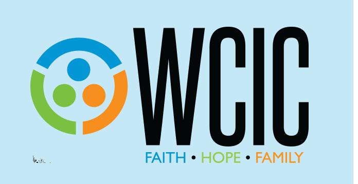 WCIC logo main header with glow