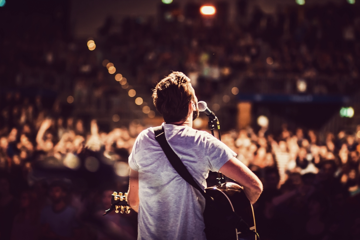 concert music guitar header