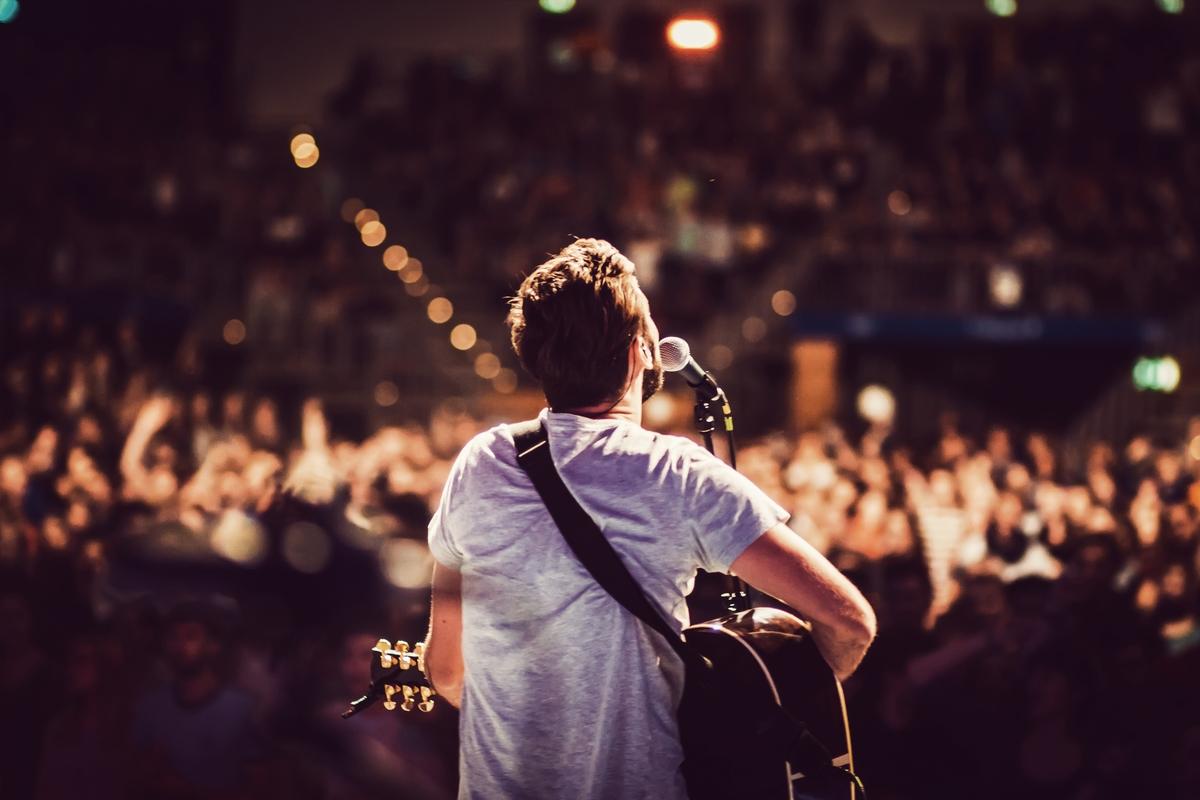 concert music guitar header