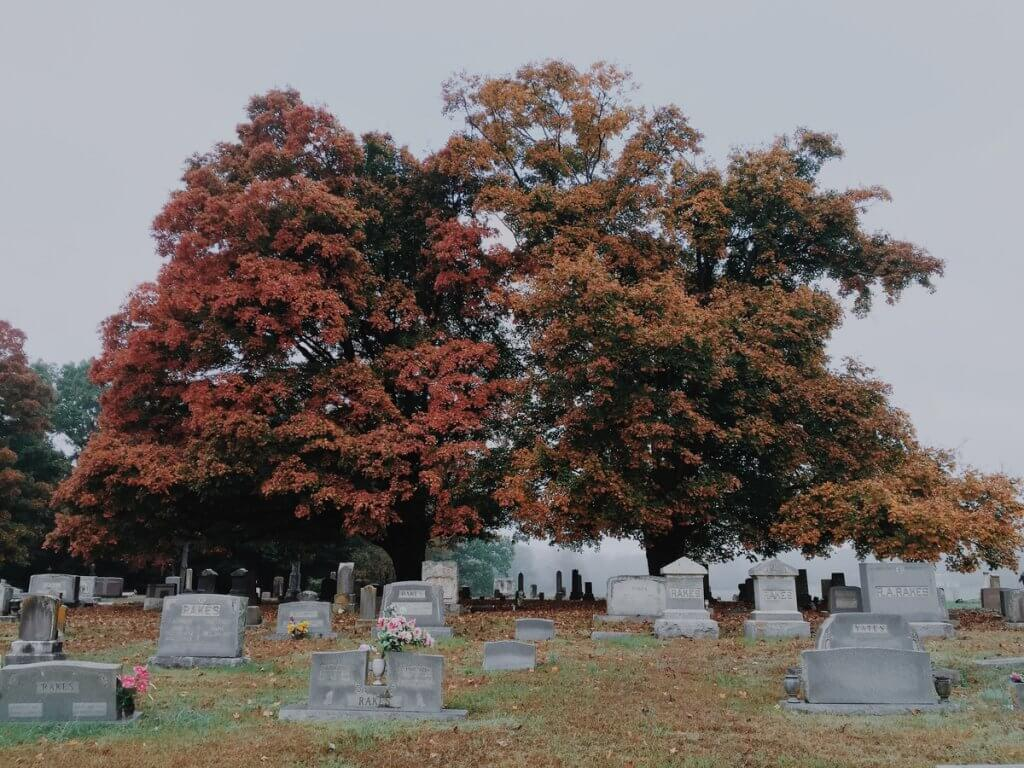 fall funeral