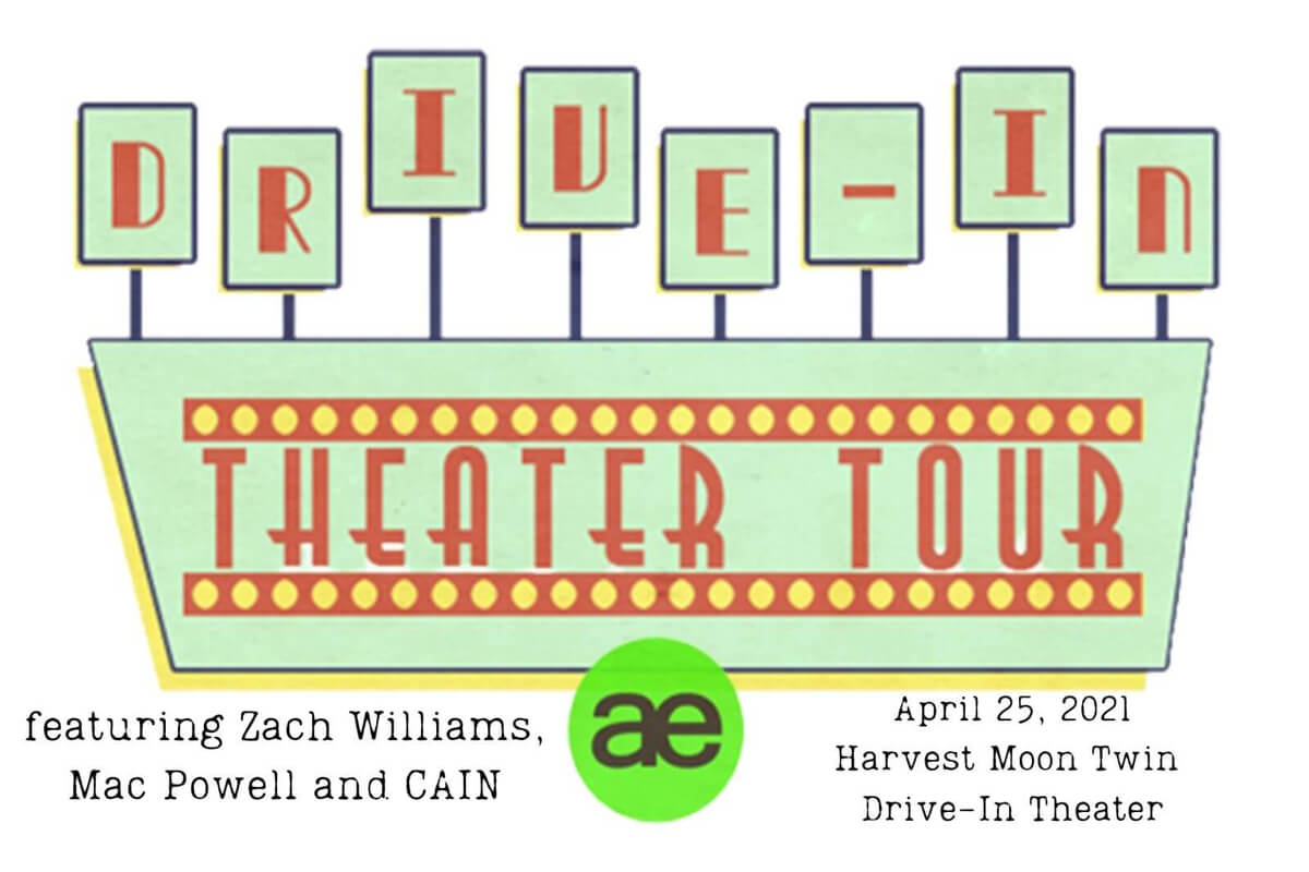Drive-In Theater Tour featuring Zach Williams and CAIN